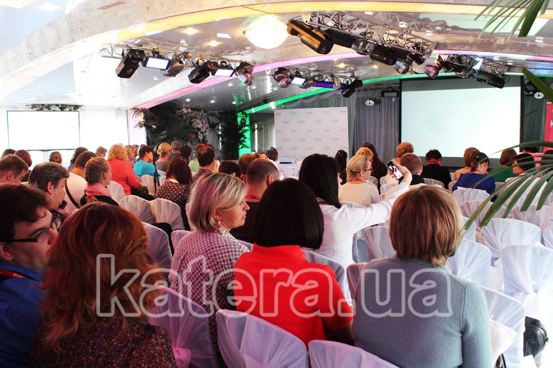 Конференция на теплоходе в Киеве