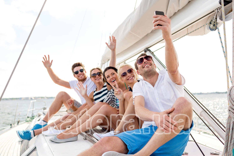 Отдых на Киевском море на яхте