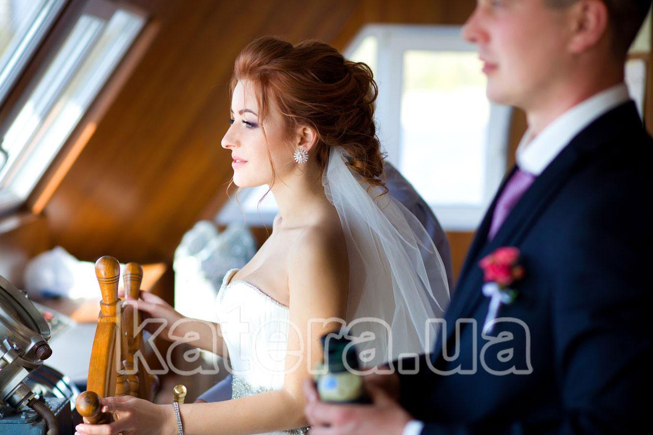 Свадьба на теплоходе в Киеве