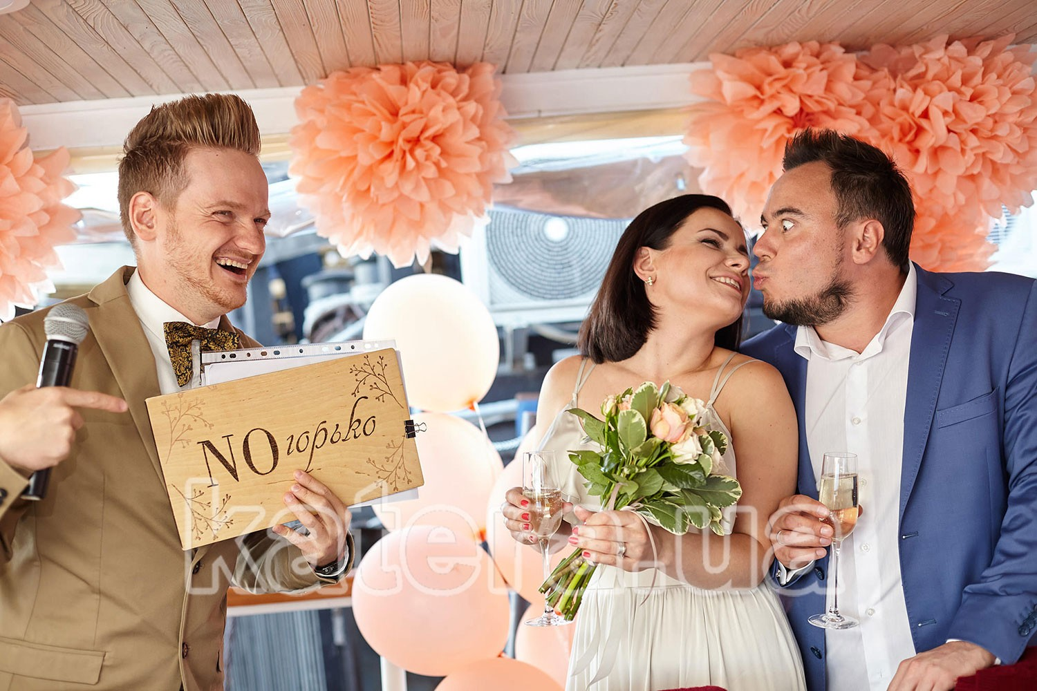 Теплоход в аренду для свадьбы