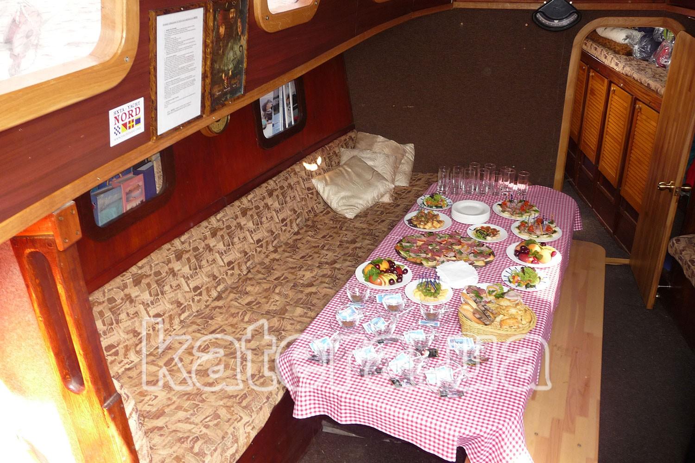 Фуршет на парусной яхте - katera.ua