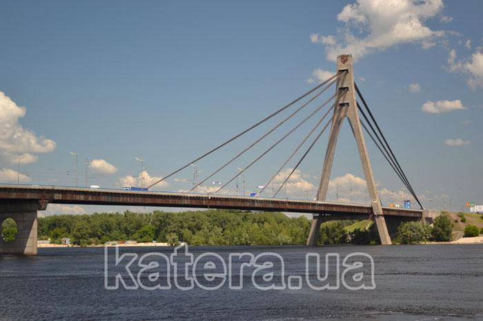 Московский мост с Днепра