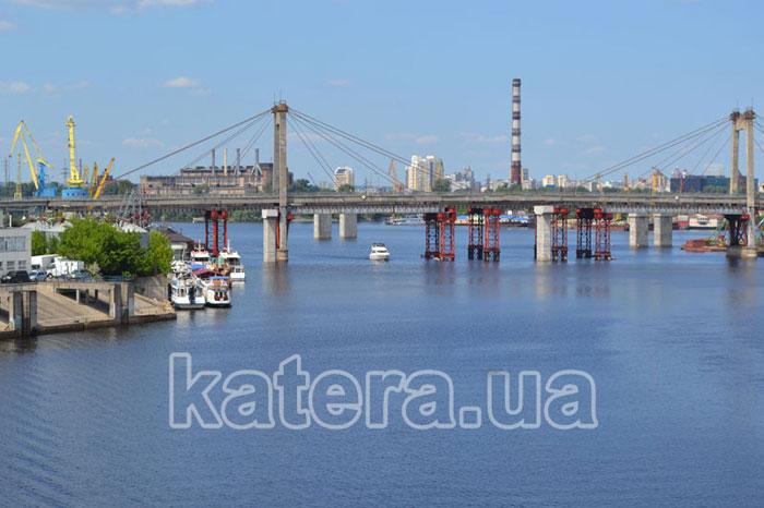 Вид на Рыбальский мост