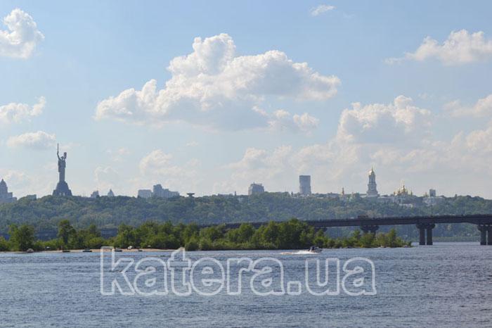 Вид на мост Патона