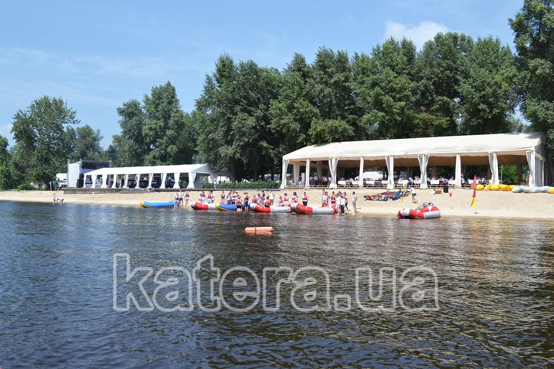Площадка Perfect Place как локация для проведения парусной регаты для Фора - katera.ua