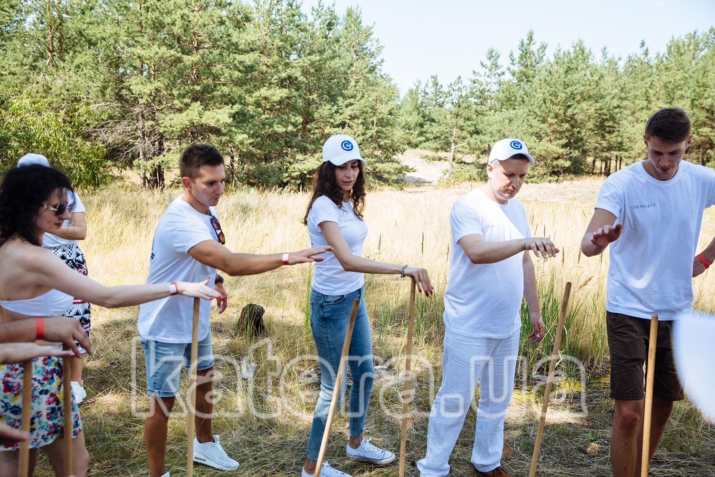 Коллектив компании принимает участие в командообразующей игре - katera.ua