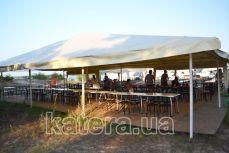 Площадка с тентами, мебелью и настилом на острове Великий - Katera.ua
