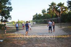 Волейбольная площадка на острове Великий - Katera.ua