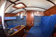 Кают-компания парусной яхты Яна - Katera.ua