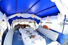 Свадебный банкет на яхте Яна - Katera.ua