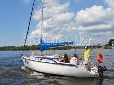 Прогулка по Днепру с гостями на яхте Дельта - Katera.ua