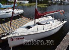 Вид на яхту Богема сверху - Katera.ua