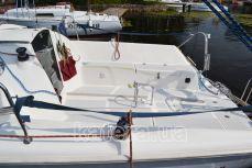 Задняя часть палубы на яхте Богема - Katera.ua