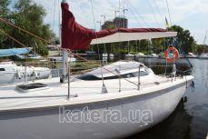 Вид на яхту Богема сбоку - Katera.ua