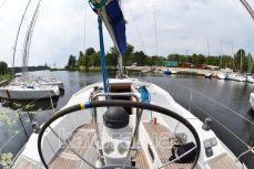 За штурвалом парусной яхты Hanse 320 - Katera.ua