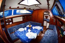 Банкет в салоне на яхте Карина - Katera.ua