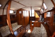 Салон внутри яхты Глори - Katera.ua