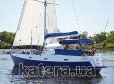 Яхта Яна под парусами - Katera.ua