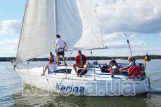 Общий вид яхты Карина - Katera.ua