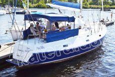 Отдых гостей на летней площадке яхты Яна - Katera.ua