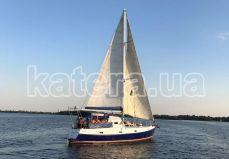 День рождения на парусной яхте Яна - Katera.ua