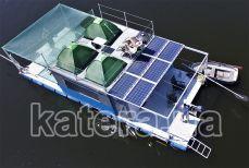 Вид на катер Релакс сверху - Katera.ua