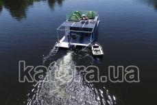 Вид на катер Релакс сзади - Katera.ua
