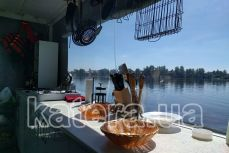 Кухня в салоне на катере Релакс - Katera.ua