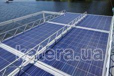 Солнечные батареи на крыше катера Релакс - Katera.ua