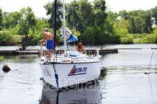 Вид на яхту Дельта спереди - Katera.ua