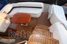 Задняя полуоткрытая площадка на яхте Принцесса 45 - Katera.ua